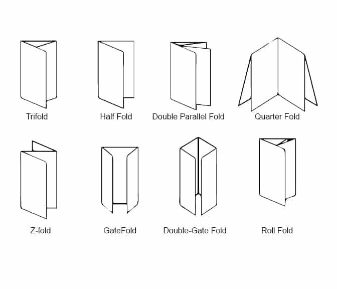 Brochure Printing Folding