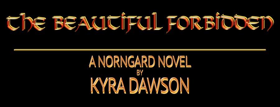 the-beautiful-forbidden-by-kyra-dawson-3D-gold-banner-vI
