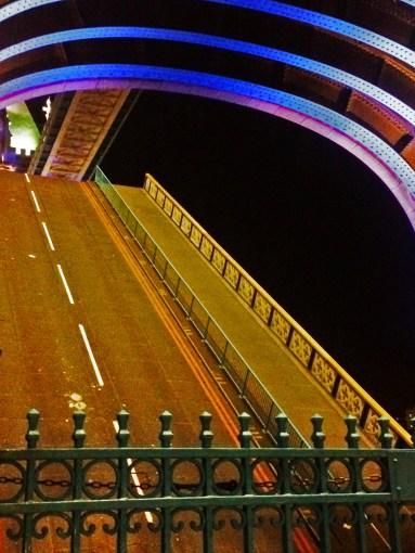 bridge is up