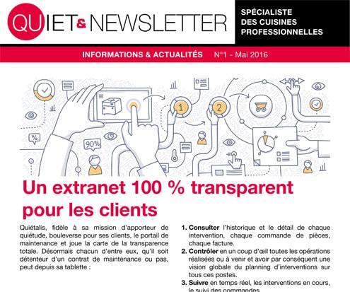 newsletter de quiétalis