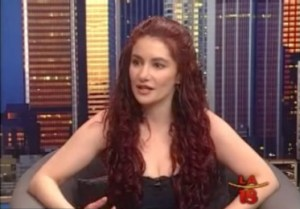 Kyra describes a self-hypnosis technique while being interviewed on Channel 18