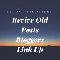 Revive Old Posts Bloggers Link Up