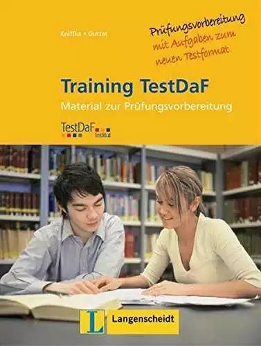 Training Testdaf Langenscheidt mit Audio-CDs