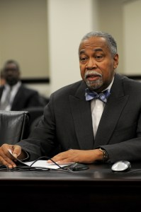 The Senate Judiciary Committee on Jan. 21 passed Senate Bill 42 sponsored by Senate Democratic Caucus Chair Gerald A. Neal, D-Louisville. SB 42 adds holders of adult personal identification cards issued within a county to the master list of potential jurors for that county. The bill now moves to the full Senate for further consideration.