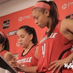 UL Lady Cards Slaughter, Schimmel & Gibbs – Press Conf vs Florida St – Video