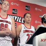 Louisville Lady Cards Hammond, Schimmel & Gibbs – Press Conf vs Loyola Chicago – Video