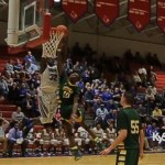 Tony Jackson DUNKS on Green County Defender in 5th Region Tourney