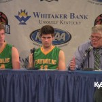 Owensboro Catholic  HS 2016 Sweet 16 Press Conference vs S. Oldham