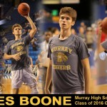 James Boone – Murray HS Class of 2016 Guard