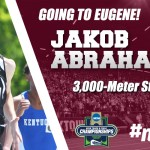 EKU'S Abrahamsen Finishes 2nd in Steeplechase at East Regional