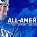 UK Baseball's Evan White Named Third-Team All-America