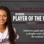 Bellarmine WSOC Taylor garners Offensive Player of Week accolade from GLVC