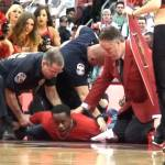 Fan Rushes Court & Arrested During Louisville Game at Yum Center