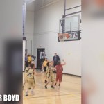 PARKER BOYD – 2nd Grader has PULL UP GAME!
