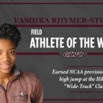 Bellarmine Rhymer-Stuart earns GLVC Field Athlete of the Week praise