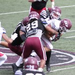 EKU Football Holds First Scrimmage of Spring Practice