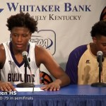 Bowling Green HS Presser after 80-79 WIN over Scott in 2017 Sweet 16 Semifinals