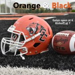 Georgetown College Football's Orange & Black Scrimmage