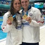 UofL Swimmers Comerford and Worrell Are Golden at World Championships with American Record in 4×100 Free Relay