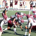 EKU Preseason Football Camp: Practice 12, Defensive Line