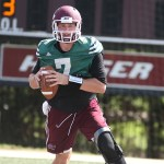 EKU Preseason Football Camp: Practice 15, Quarterbacks