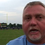 Coach Tim Mattingly on Central Hardin HS Bruins Football Scrimmage