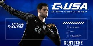 University of Kentucky soccer 2017