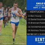 UK Cross Country Men's and Women's Teams Each Second at Eagle Opener
