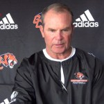Georgetown College Tigers Coach Bill Cronin on 2017 Football w/ Lacy Rice, Jr