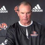 Georgetown College Tigers Coach Bill Cronin on 2017 Football w/ Lacy Rice, Jr