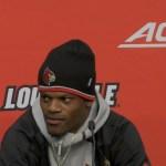 UofL Cardinals Football Lamar Jackson & Jaire Alexander on WIN vs Syracuse