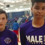 Jake Evans Interview after Male HS Basketball win vs Whitley Co