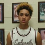 Henderson Co HS Basketball's Kale Gaither on WIN vs Knott Co w Lee G