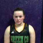 Green County HS Basketball Senior Guard Hannah Judd interview with Trevent Hayes