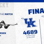 #3 UK Rifle Remains Undefeated in GARC, Defeats No. 13 NC State