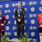 UK Swim & Dive's Freriks Wins Gold, Seidt Takes Silver on Day Two of SEC Championships