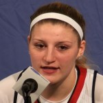 Louisville WBB Coach Walz, Hines-Allen, Fuehring, Shook Presser vs Boise St in NCAA Tourney