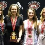 EKU's Kristinsdottir Chosen OVC Freshmen of the Year, Three Earn All-OVC Honors