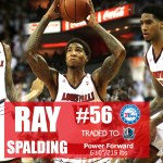 UofL's Ray Spalding Selected by Philadelphia in NBA Draft, traded to Dallas
