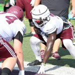 EKU Preseason Football Camp 2018: Practice 4, Tight Ends
