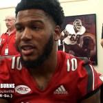 Louisville Cardinals Football 2018 – Rodjay Burns & PJ Mbanasor – 2018 Media Day