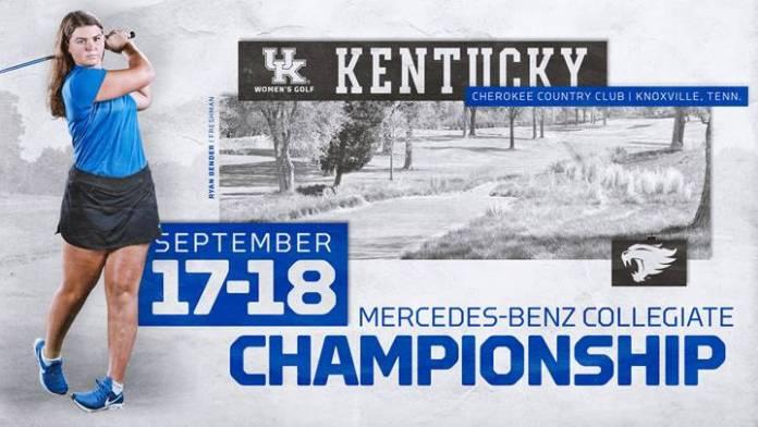 University of Kentucky Womens Golf 2018