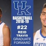 Kentucky Wildcats Basketball 2018-19 Roster