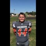 Hart County MS Football 2018 OL/DL Kaden Trenton Conference Championship WIN
