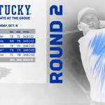 UK MGOLF: Lukas Euler Surges into Top 20 to Lead Kentucky on Day Two