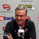 Western Kentucky MBB Coach Rick Stansbury – 2018 Media Day