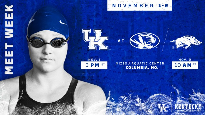 University of Kentucky Swim and dive 2019
