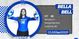 University of Kentucky Volleyball 2018