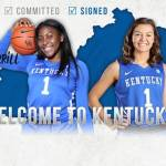 UK WBB's Emma King, Deasia Merrill Sign with Kentucky WBB for 2019