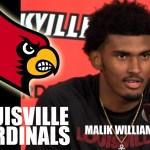 Louisville Basketball Malik Williams on 104-54 WIN vs Southern